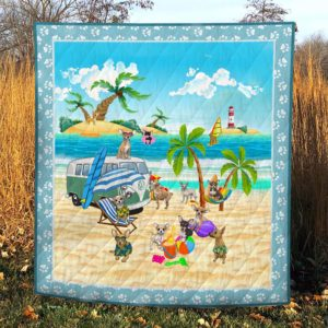 Camping – Chihuahua – Quilt – POD000026