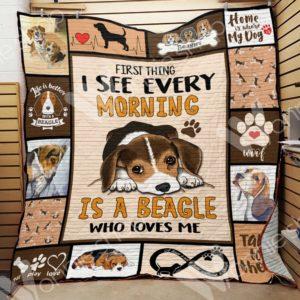Beagle Dog-Quilt-0489